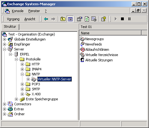 exchange en windows 2000: